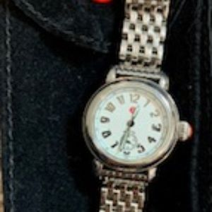 Used Michele Stainless Steel CSX Mini